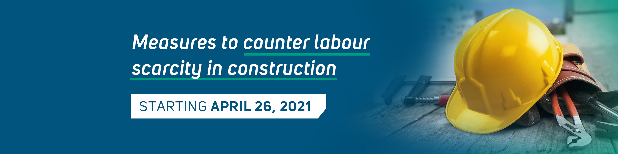 Labour scarcity in construction